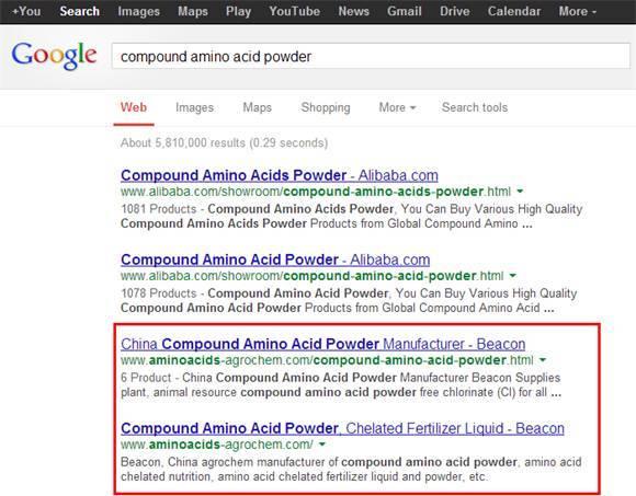 外贸SOHO网站英文Google SEO排名优化案例